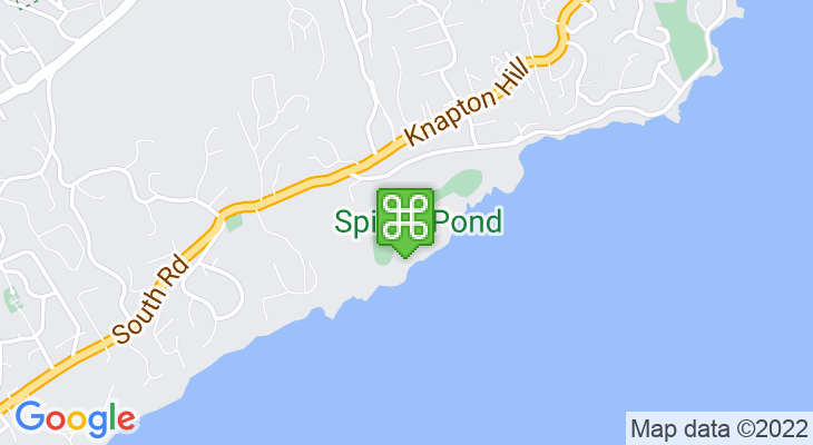 Map showing location of Spittal Pond Nature Reserve