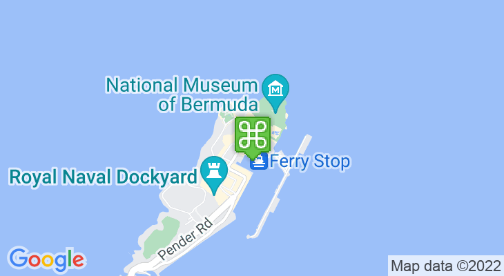 Map showing location of Dockyard Historical Re-enactments & Walking Tours