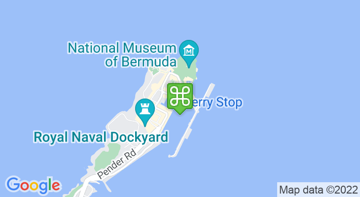 Map showing location of Island Tour Centre