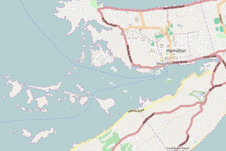 Map of Bermuda – Bermuda Tourist Map