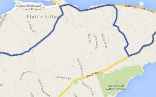 Bus Route 3 Bermuda - Hamilton – Crystal Caves – Grotto Bay – Airport – St George