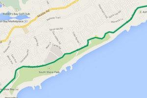 Bus Route 7 Bermuda - Hamilton, Horseshoe Bay, Fairmont Southampton, Dockyard