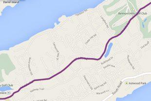 Bus Route 8 Bermuda - Hamilton, Middle Road, Royal Naval Dockyard