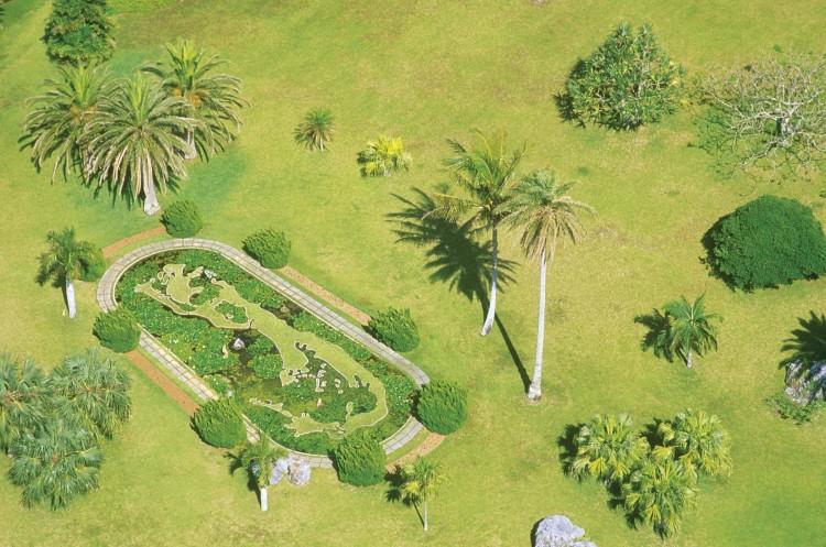 Palm Grove Gardens in Bermuda