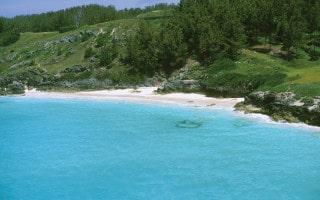 West Whale Bay, a quiet beach in Bermuda