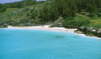 West Whale Bay, a quiet beach in Bermuda