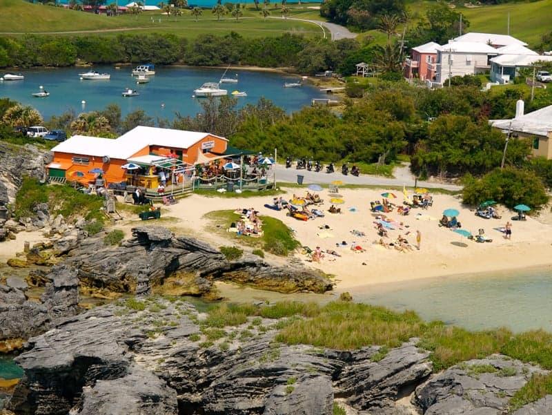Beach at Tobacco Bay, Bermuda