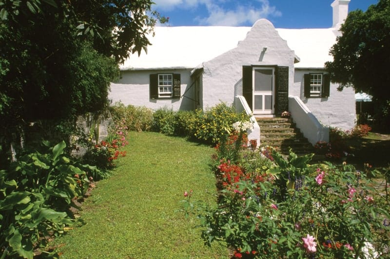 Old Rectory historic cottage in St George, Bermuda