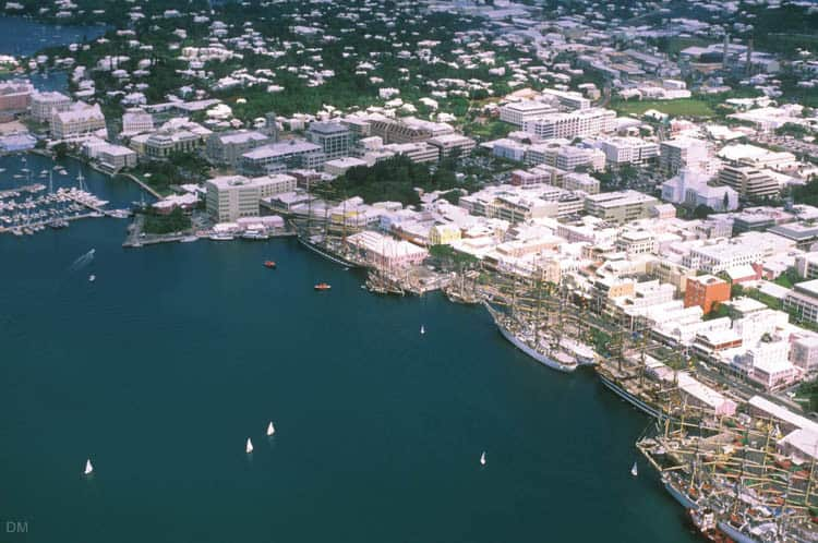 Bermuda Island Map Google