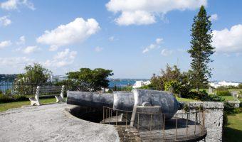 Canon at Fort Hamilton, Bermuda