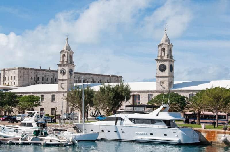 Clocktower Mall at Royal Naval Dockyard, Bermuda