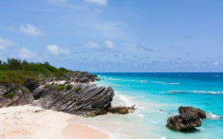 Chaplin Bay beach in Bermuda