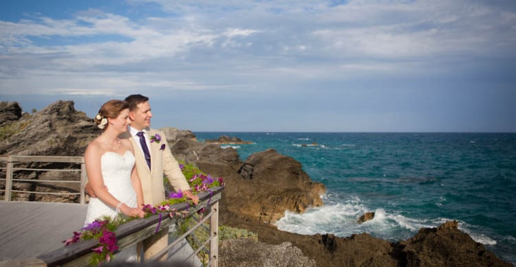 Wedding at the Reefs, Bermuda