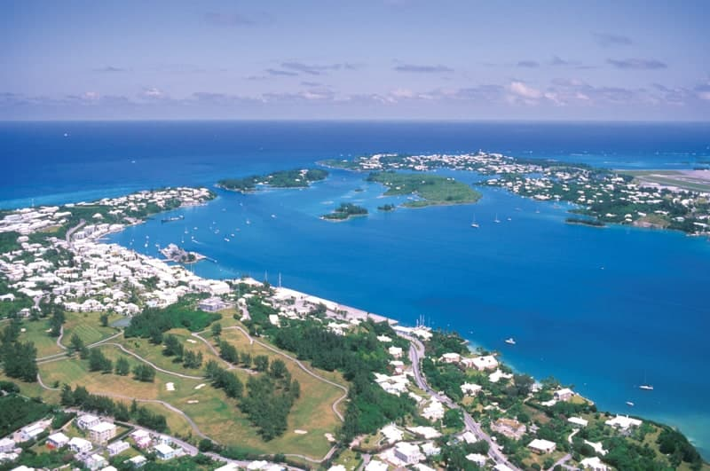 Beautiful weather in St George's Parish, Bermuda