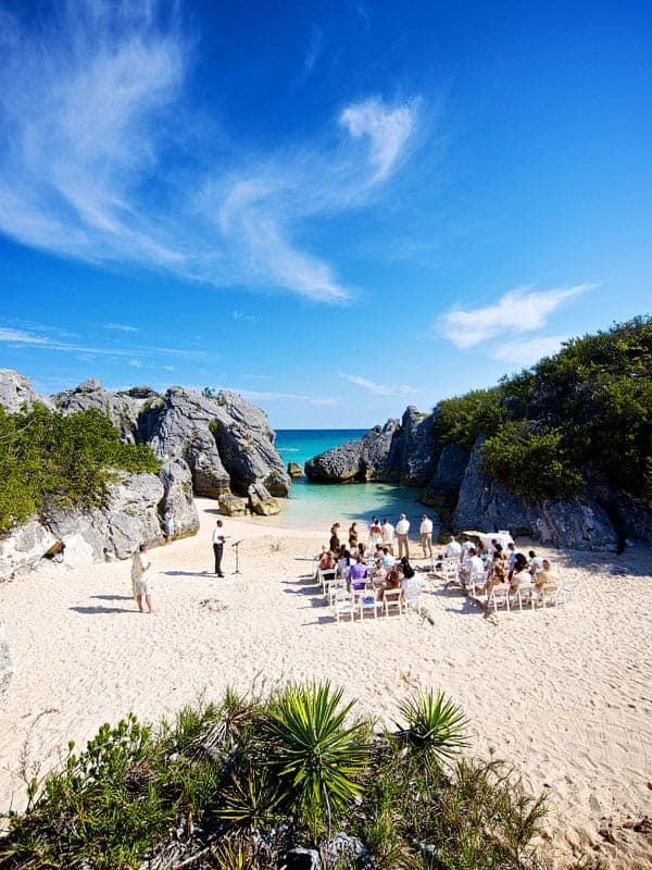 Ceremony on Jobson's Cove, Bermuda