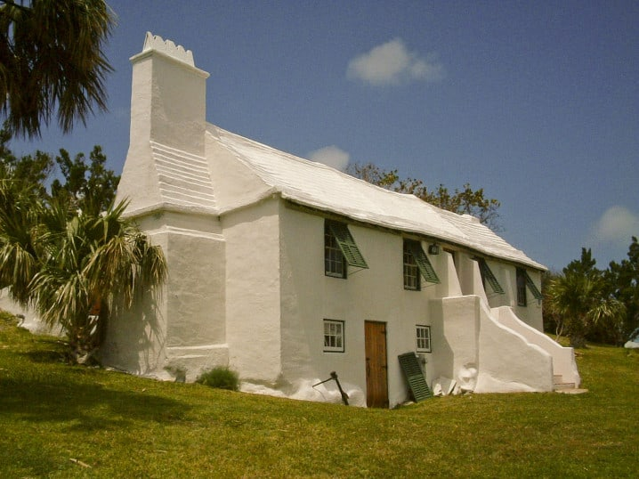 Carter House, one of the oldest buildings in Bermuda